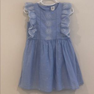 Gap girls embroidered dress